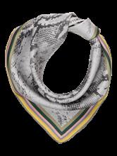 Bild von Nickituch mit Schlangenprint