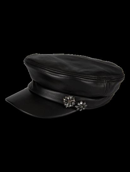 Bild von Hut mit Strasssteinen