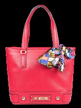 Image sur Shopper avec foulard