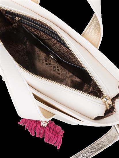 Bild von Handtasche mit Applikationen