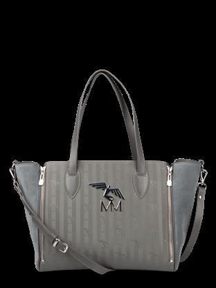 a749a4152abad Maison Mollerus. Handtasche mit Logo LIMPACH