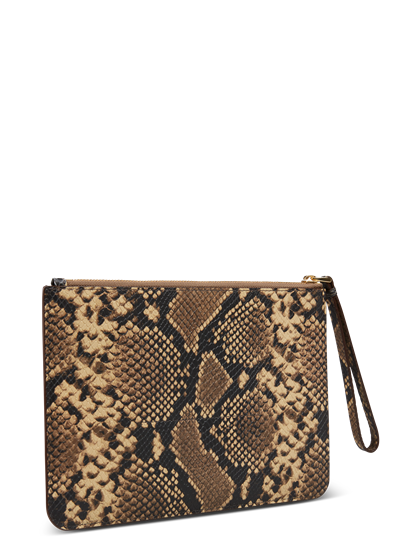 Image sur Clutch motif serpent
