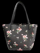 Image sur Cabas réversible imprimé floral