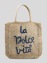 Bild von Strandtasche aus Jute