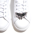 Bild von Schuh-Applikation aus Strasssteinen
