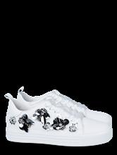 Bild von Sneakers mit Blumen-Applikationen