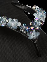 Bild von Flip Flop mit Blumen Applikationen