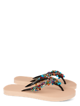 Bild von Flip Flops mit Perlen