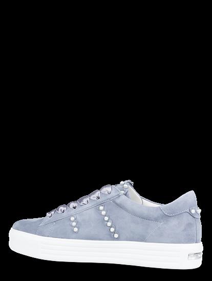 Bild von Sneakers aus Wildleder mit Perlen