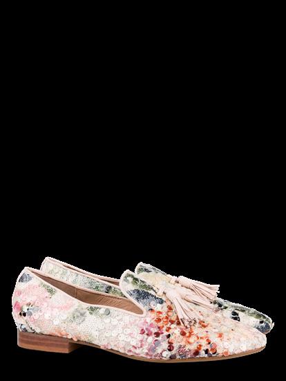Bild von Loafer mit Pailletten und Tasseln
