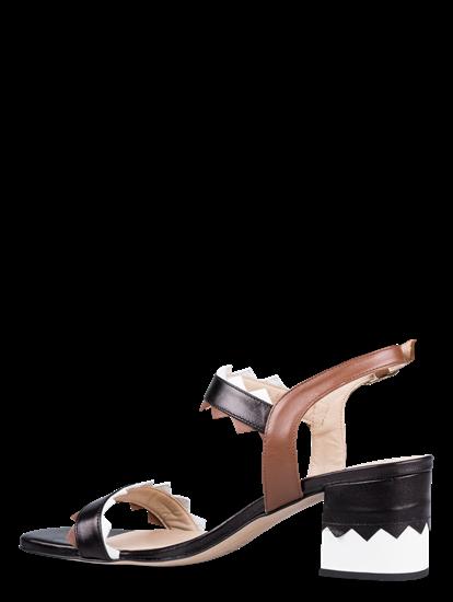 Bild von Sandaletten in Colourblock-Optik