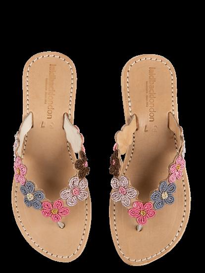 Bild von Sandalen mit Perlen