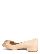 Bild von Ballerinas mit Masche und Nieten