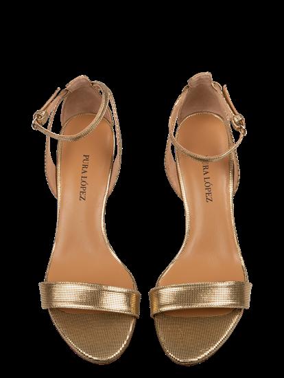 Image sur Sandalettes avec brillant