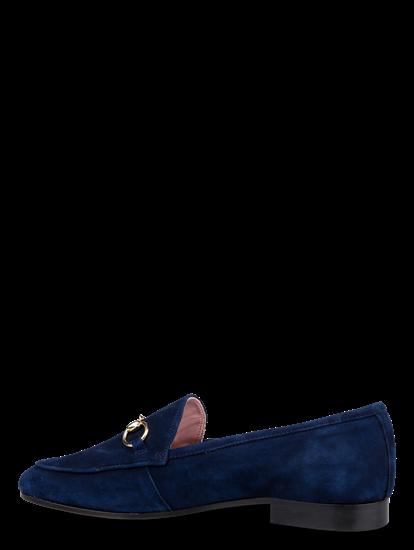 Bild von Loafers aus Velour mit Schnalle