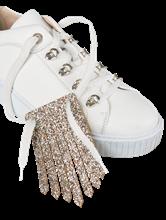Bild von Schuh-Applikation mit Glitzer