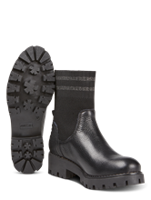 Image sur Boots en mélange de matières