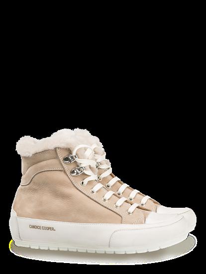 Bild von Sneakers mit Lammfellfutter