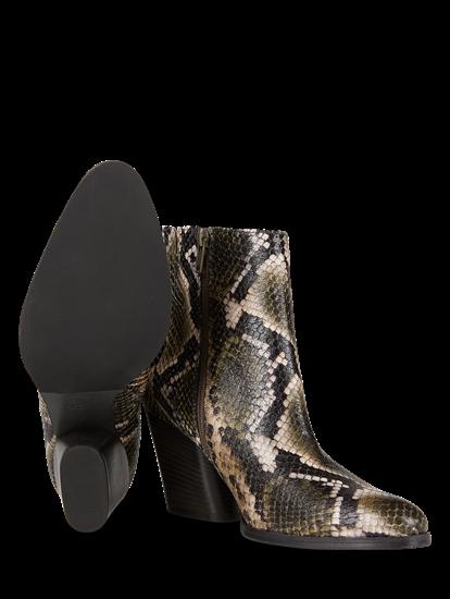 Bild von Stiefeletten in Schlangen-Optik