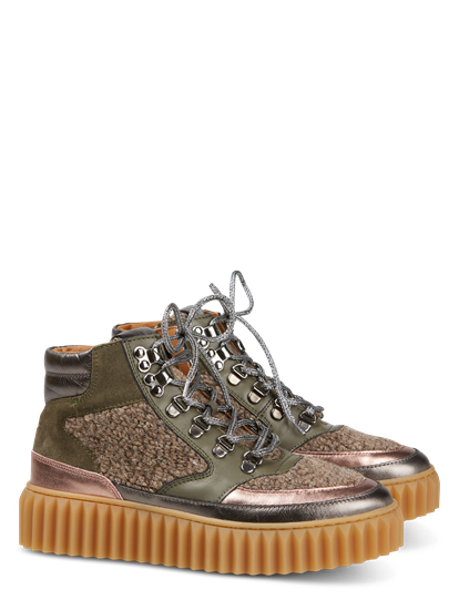 Image sur Sneakers montantes en mélange de matières EVA HIKE