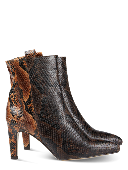 Image sur Bottines motif serpent
