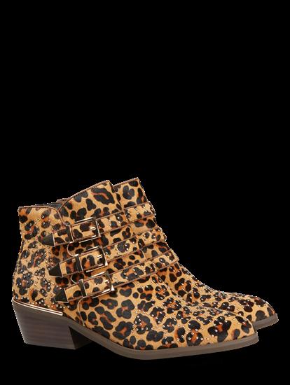 Image sur Bottines imprimé léopard