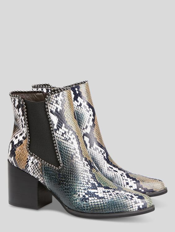 Bild von Chelsea Boots in Schlangen-Optik