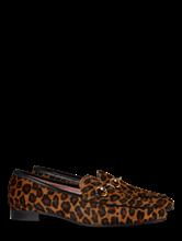 Image sur Mocassins imprimé léopard