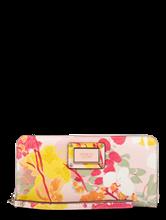 Bild von Portemonnaie mit Blumen-Print