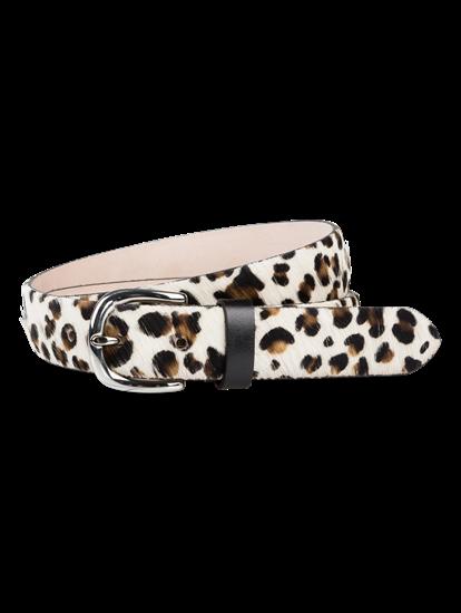 Image sur Ceinture avec imprimé léopard