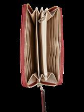 Bild von Portemonnaie mit Steppung