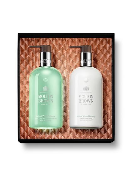 Image sur Ensemble cadeau avec savon fluide & crème pour les mains
