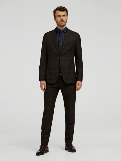 Bild von Anzug im Shaped Fit mit Gitterkaro