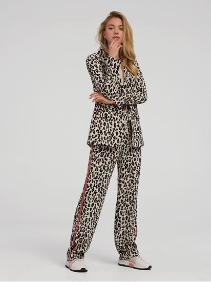 Image sur Costume avec imprimé léopard